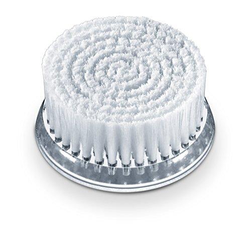 Beurer FC 65/FC 96 Ersatzbürste für Gesichtsreinigungsbürste, Bürstenaufsatz für alle Hauttypen, 2 Stück