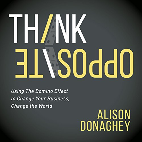 Think Opposite audiobook cover art