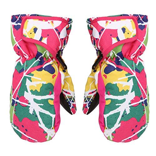 Viesky Windproof Waterdichte Kids Winter Warme Wanten Kinderen Jongens Meisjes Ademende Ski Snowboard Handschoenen