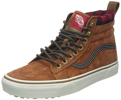 Vans Unisex Sk8-Hi MTE (MTE) Glazed Ginger Skate Shoe 10 Men US / 11.5 Women US
