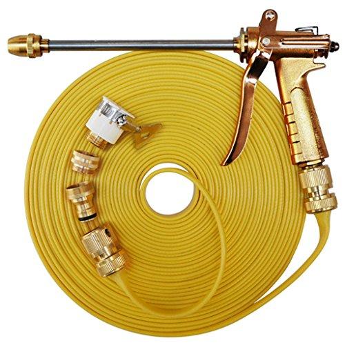 Car wash supplies Roscloud@ Pistolet à eau à haute pression de laveuse en métal, arrosant le tuyau de tuyau de jardin d'arme à feu, lavage de voiture/arrosage d'usine/nettoyage de trottoir