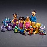 No Figura de Anime Figura de Anime 12 Unids Dora Adventures Dona The Explorer PVC Niños Muñeca 3~10cm