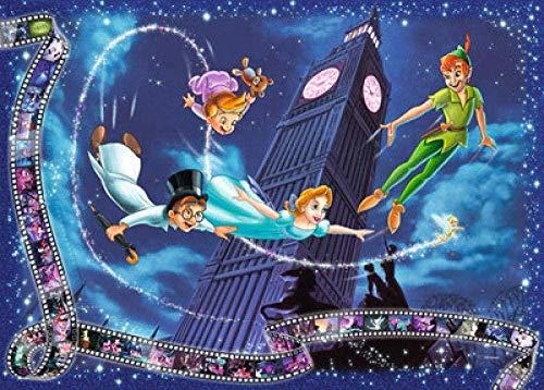 BBSJX Adultos Niños Rompecabezas 1000 Piezas Arte Rompecabezas De Madera Juguetes Peter Pan Creativo DIY Desafío Juego Educativo,Jigsaw Puzzle
