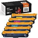 Lemero SuperX - 5 Toner compatibili con Brother TN-241 TN-245 TN-242 TN-246 per Brother MFC-9332CDW DCP-9022CDW HL-3142CW MFC-9142CDN HL-3152CDW MFC-9140CDN MFC-9342CDW DCP-9017CDW HL-9020CDW 3140CW