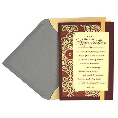 Dayspring Clergy Appreciation Day Card (Heartfelt Appreciation)