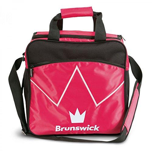 Bowling-Ball Tasche Brunswick Blitz Single Tote für Bowling-Kugel und Bowling-Schuhe , Farbe:Pink