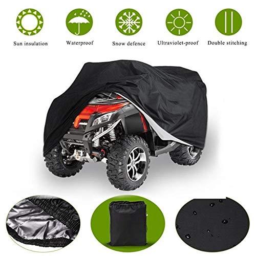 NA Telo Copriauto, Nuovi arrivi Universale Resistente al Calore Impermeabile Pioggia Neve Protezione Auto Copertura for ATV Quad (Size : XXL)