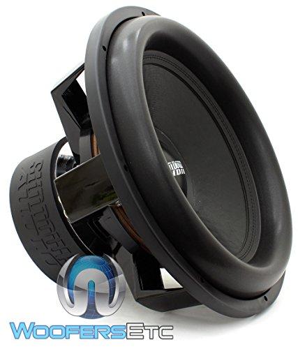X-18 V.2 D4 - Sundown Audio 18  1500W RMS Dual 4-Ohm X V.2 Series Subwoofer