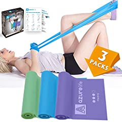 【Premium Quality】 Sale is for a Color-Coded 3-Band Set (Green, Blue, Purple), Offers 3 Levels of Resistance (Light,Medium, Heavy), Made from Upgraded Rubber Material, Not Sticky Material, Eco-Friendly, Non-Toxic, Odor Free&Latex-Free, People with Lat...