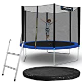 Kinetic Sports Outdoor Gartentrampolin Ø 305 cm,...