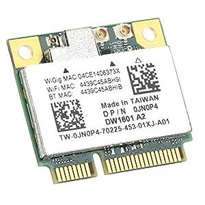Socobeta Half Mini Wireless Card Durable Wireless Network Card Half Mini Network Card Compatible with Win7/8 Compatible with WiGig 802.11ad