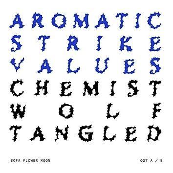 Aromatic Strike Values / Chemist Wolf Tangled (027)