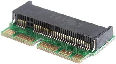 Eachbid M llave M.2 PCI-E AHCI SSD adaptador de tarjeta para 2013 2014 2015MacBook Air A1465 A1466 Pro A1398 A1502 A1419 NGFF a MD711 MD712