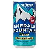コカ・コーラ ジョージア エメラルドマウンテン コーヒー 185ml缶×30本