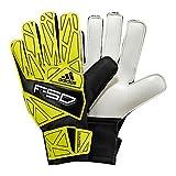 adidas - Guantes de fútbol Infantil, tamaño 7 UK, Color Tech Onix f12 / Oscuro Morado Lab Lime f12