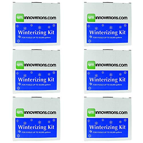 VMInnovations Swimming Pool Winterizing Chemical Treatment Closing Kit (6 Pack)