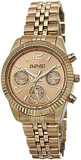 87d19c826 August Steiner Women's Classique Swiss Quartz Multifunction Stainless Steel  Bracelet Watch