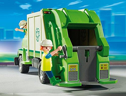 Camion Recyclage Vert Playmobil Ensemble de Jeu 5679 - 3