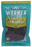 Werner Gourmet Meat Snacks, All Natural Teriyaki Beef Jerky - 9 oz.