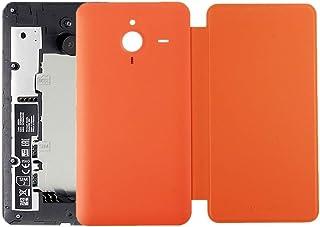 Battery case Jrc Horizontal Flip Leather Case + Plastic Back Cover for Microsoft Lumia 640XL(Black) Mobile phone accessori...