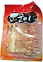 [Keumhan] OSOONY Grilled Dried Squid BBQ & Peanut Butter Flavor 80g/2.82oz, Best snack for beer