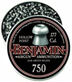 9. Benjamin 750-Count .177-Caliber Hollow Point Pellets