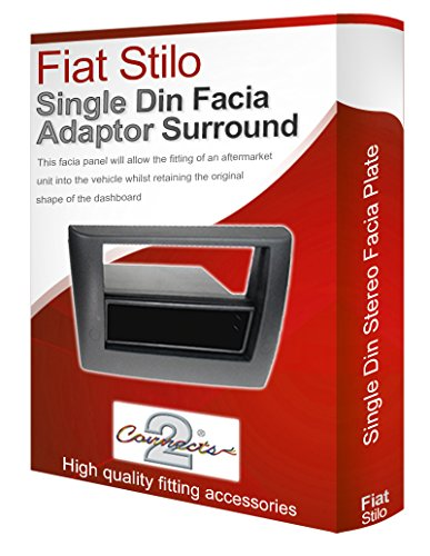 Connects2 Adaptateur de façade Auto-Radio pour Fiat Stilo, avec Lecteur CD stéréo.