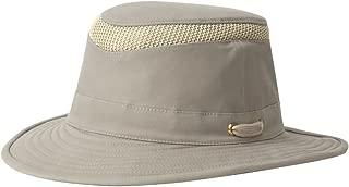 T5MO Organic Cotton Airflo Hat, Khaki With Olive Underbrim, 7 1/4