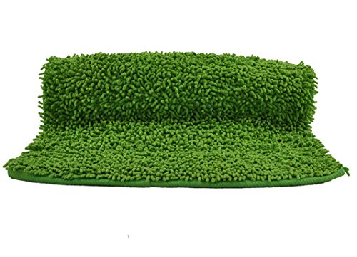 Tiendas Mi Casa - Alfombra Loop (150x200 cm, Verde). Disponible en Varios tamaños y Colores.