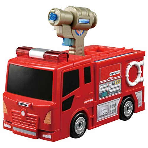 トミカ ぴゅぴゅっと消火! おしごと変形消防署