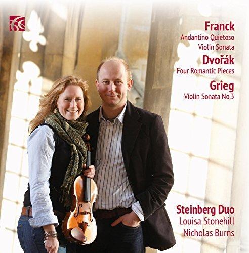 Dvor?k, Frank & Grieg: Works for Violin & Piano by Steinberg Duo (2015-08-03)