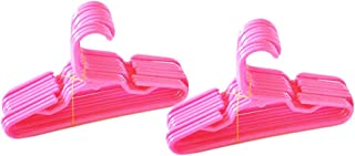 Brittany's My 24 Pink Hangers Compatible with American Girl Doll Clothes- 18 Inch Doll Clothes Hangers