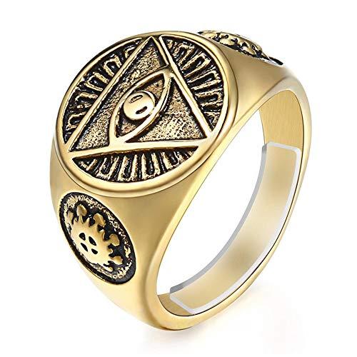 Feramox Anillo de ajuste de tamaño para anillos sueltos invisibles, ajustable, para hombre, anillos anchos (más de 3 mm)