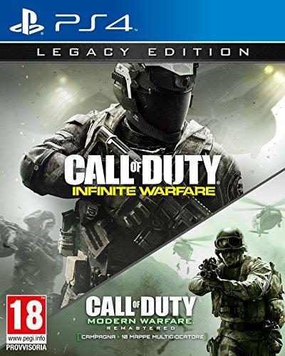 Il pacchetto di gioco definitivo 2-in-1 con Call of Duty: Infinite Warfare e Call of Duty: Modern Warfare Remastered. Tre diverse modalità di gioco: Campagna, Multigiocatore e Zombi. Ritorno alla guerra classica su larga scala Una campagna di call of...