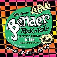 LA BELLA ラベラ エレキギター弦 B1152 Medium Bender Electric Guitar Strings 11-52