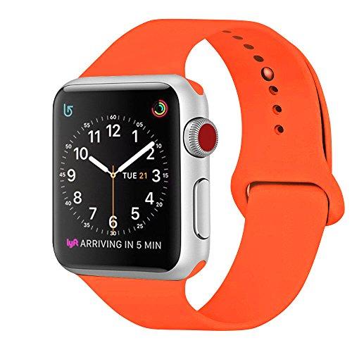 ZRO Sport Watch Bracciale, Cinturino in Silicone Morbido Compatibile con Cinturino dell'orologio 44MM 42MM 40MM 38MM Orologio Serie 4/3/2/16, S/M M/L, Tutti i Modelli