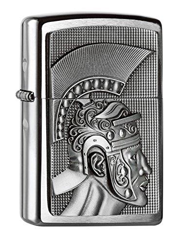 Zippo Zippo 2004662 Roman Emblem Feuerzeug, Messing Map(language_tag -> De_de)