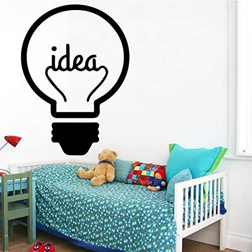 Hllhpc Idea muurstickers, lamp, ramen, auto, stickers, vinyl, silhouet, clip, Art Vector Plotter gesneden, decoratie, 43 x 59 cm