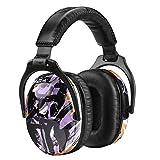 ZOHAN EM030 [Upgraded] Kids Ear Protection Safety Ear Muffs (Purple Graffiti)