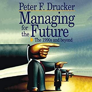 Managing for the Future audiobook cover art