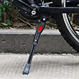 N/S Fahrradständer für 22-28 Zoll, aus Aluminiunlegierung mit rutschfest Fuß, Universal Fahrrad Ständer für Mountainbike, Rennrad, Erwachsenenrad, Kinderfahrrad, Faltbares Fahrrad