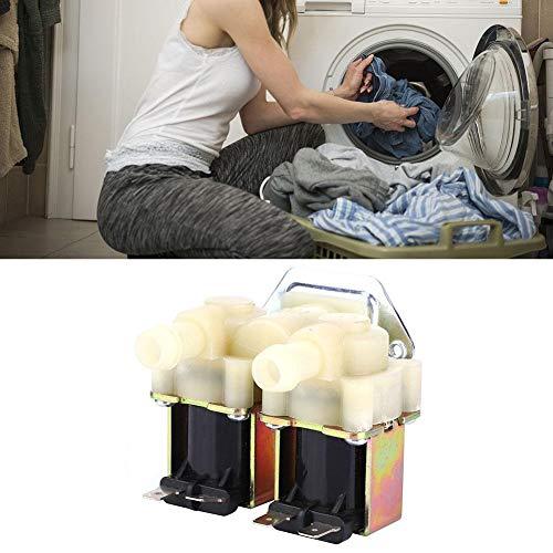 Magneetventiel watertoevoer, G3 / 4 NC Elektrisch magneetventiel Normaal gesloten Schakelaar watertoevoer Elektromagnetische klep voor wasmachine (AC220V)