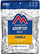 Mountain House Granola with Milk & Blueberries | Freeze Dried Backpacking & Camping Food | 2 Servings