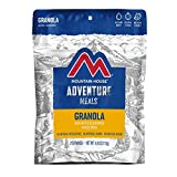 Mountain House Granola with Milk & Blueberries | Freeze Dried Backpacking & Camping Food | Survival & Emergency Food