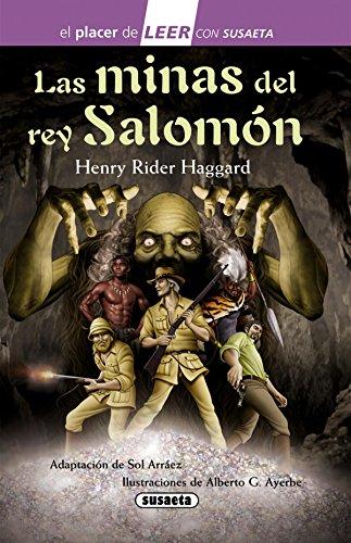 Las minas del rey Salomón (El placer de LEER con Susaeta - nivel 4)