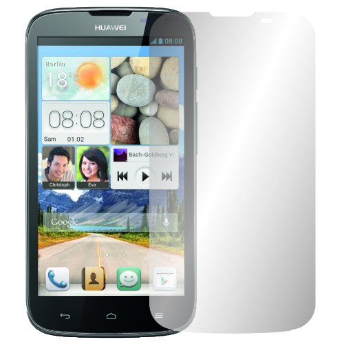 2 x Slabo protector de pantalla Huawei Ascend G610 lámina protectora de pantalla lámina protectora