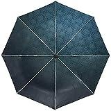 Automatische Regenschirm Muster Wandleuchte Schatten Reise bequem Winddicht wasserdicht Falten Auto öffnen schließen