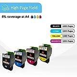 Zoom IMG-2 cartucce toner compatibili 4 colori