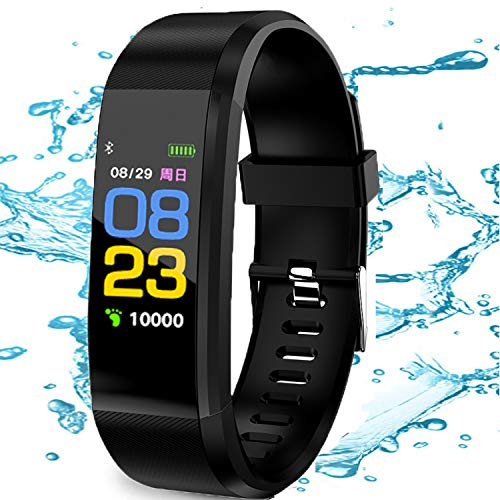 Smartwatch Reloj inteligente Rastreador de ejercicios Monitor de presión arterial de frecuencia cardíaca IP67 Monitor de sueño impermeable Contador de pasos Podómetro para caminar para hombres Mujeres