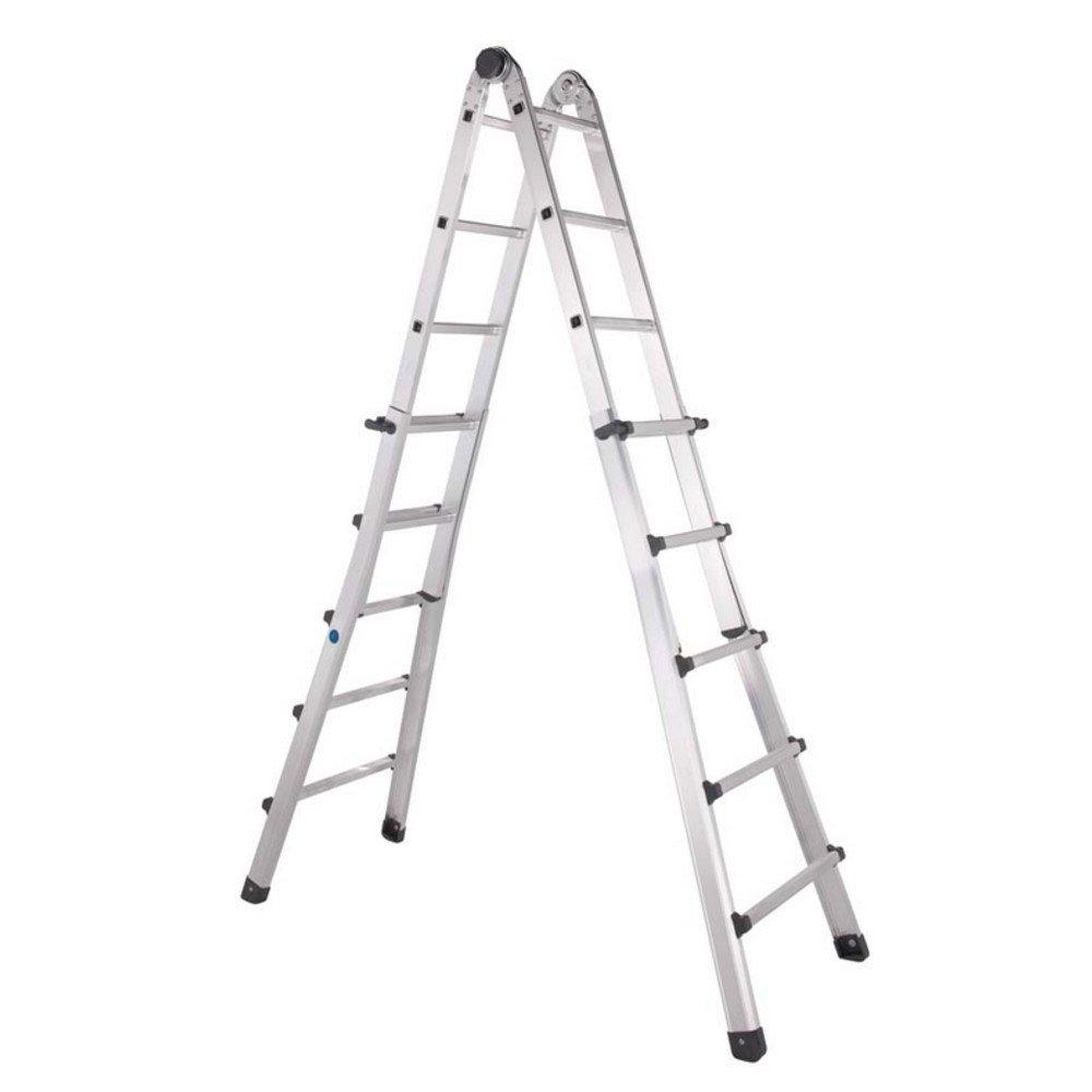 Zarges comercio – Escalera telescópica 4 x 4 peldaños zar41194: Amazon.es: Bricolaje y herramientas